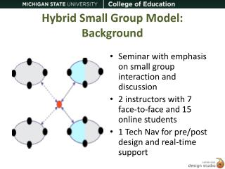Hybrid Small Group Model: Background