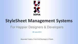 StyleSheet  Management Systems