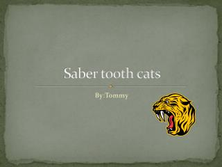 Saber tooth cats
