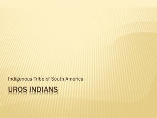 Uros Indians