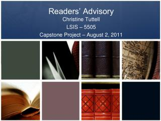 Readers' Advisory