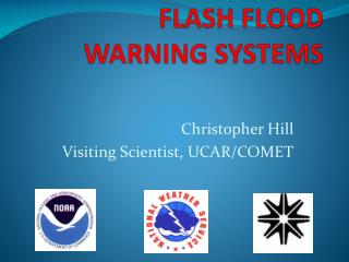 FLASH FLOOD  WARNING SYSTEMS