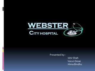 Webster  c ity Hospital