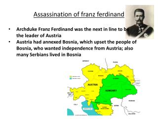 Assassination of  franz ferdinand