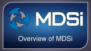 Overview of  MDSi