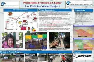 Philadelphia Professional Chapter Las  Delicias  Water Project