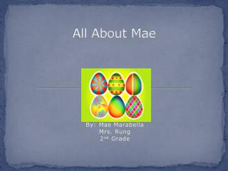 All About  Mae