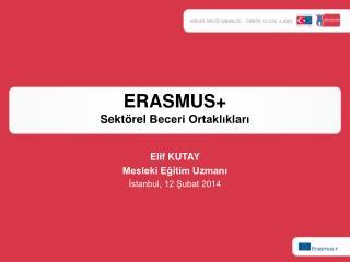 ERASMUS + Sektörel  Beceri Ortaklıkları