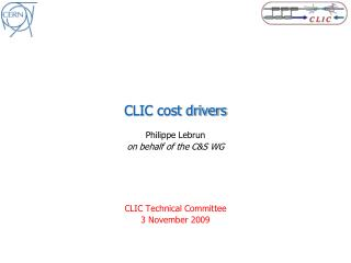 CLIC cost drivers
