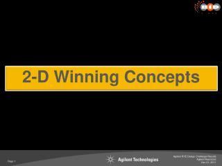 2-D Winning Concepts