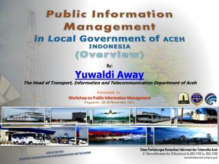 Dinas Perhubungan Komunikasi Informasi dan Telamatika Aceh