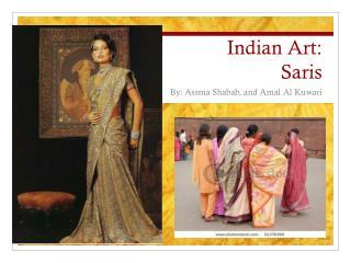 Indian Art: Saris