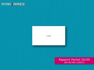 Rapport Partiel 26/09 Réf  BC760-230913