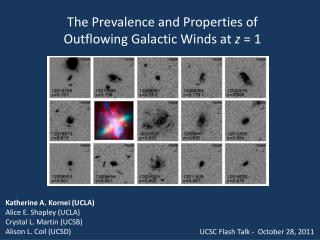 The Prevalence and Properties of  Outflowing  Galactic Winds at  z  = 1