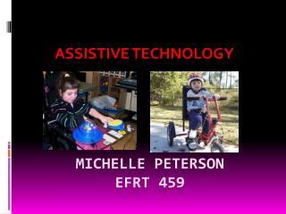 Michelle Peterson EFRT 459