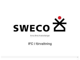 IFC i förvaltning