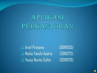 Apilaksi Perkantoran (Ms. Outlook)
