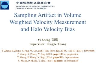 Sampling  Artifact in Volume Weighted Velocity Measurement and Halo Velocity Bias
