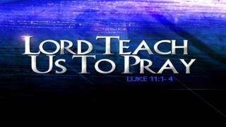 Jesus� Teaching on Prayer