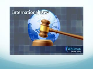 What You Know About International Law