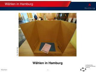 Wählen in Hamburg