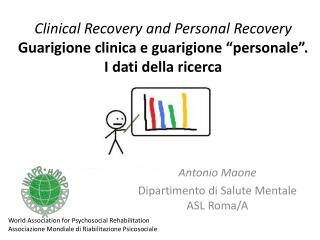 Antonio Maone Dipartimento di Salute Mentale ASL Roma/A