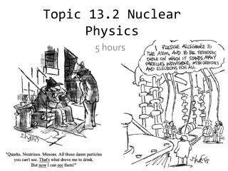 Topic 13.2 Nuclear Physics