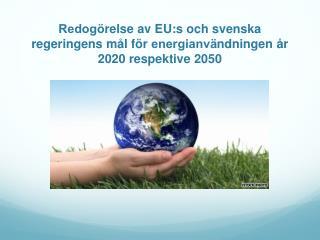 EU:s  mål för energianvändningen år  2020
