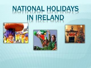 National  holidays in ireland