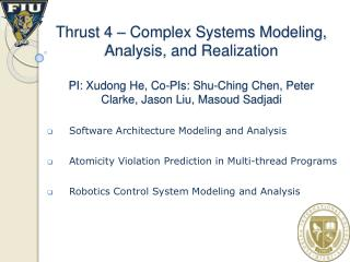 Software Architecture Modeling and Analysis