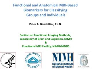 Functional and Anatomical MRI-Based  Biomarkers for Classifying  Groups and Individuals