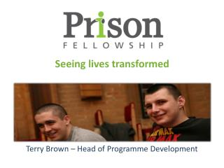 Terry Brown – Head of  Programme  Development
