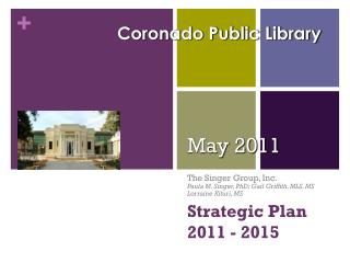 Strategic  Plan                 2011 - 2015