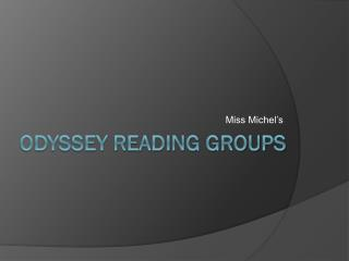 Odyssey Reading Groups