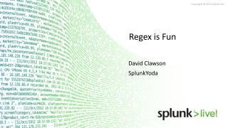 Regex is Fun