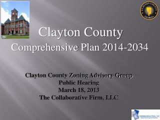 Comprehensive  Plan 2014-2034