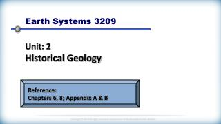 Earth Systems 3209