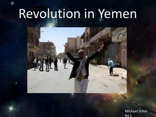 Revolution in Yemen