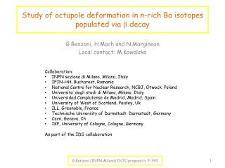 Study of  octupole  deformation in n-rich Ba isotopes populated via  b  decay