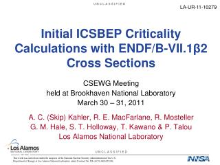 Initial ICSBEP Criticality Calculations with ENDF/B-VII.1 β 2 Cross Sections