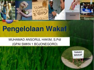 Pengelolaan Wakaf