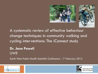 South West Public Health Scientific Conference - 1 st  February 2012