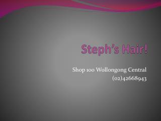 Steph's Hair!