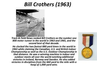 Bill Crothers (1963)