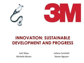 INNOVATION: SUSTAINABLE DEVELOPMENT AND PROGRESS