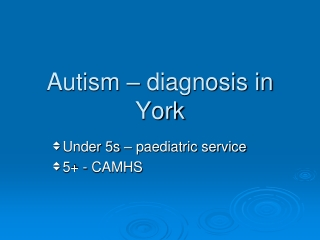 What is all this talk about Autism  Asperger s Syndrome