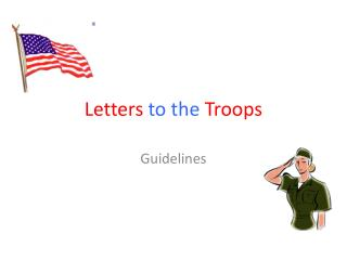 Letters  to the  Troops