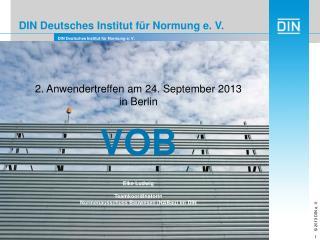 DIN Deutsches Institut für Normung e. V.