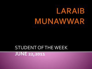 LARAIB MUNAWWAR