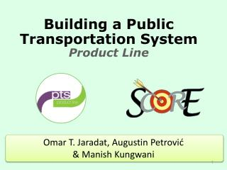 Building a  Public Transportation System Product Line